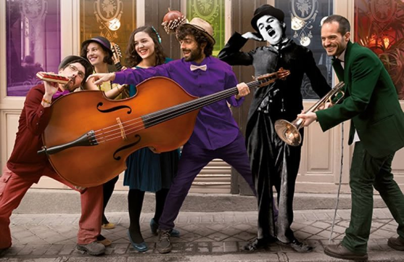Música para el mundo mudo de Charlie Chaplin